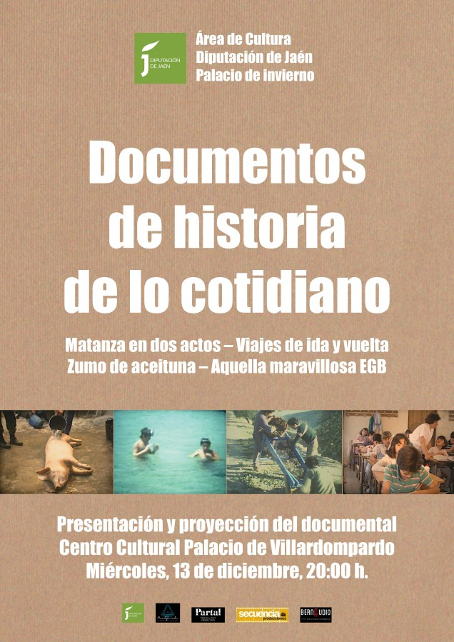 cartel-documentos de historia de lo cotidiano
